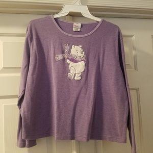 Winnie The Pooh, long sleeve tee, Disney Store